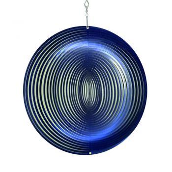 windspiel kreis blau
