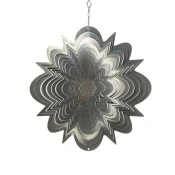 Windspiel Hypersplash Silber