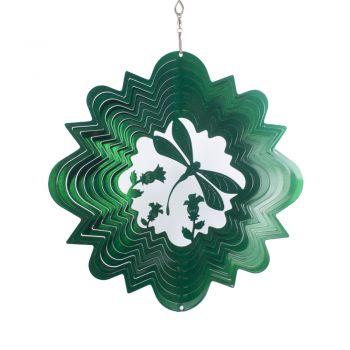 Windspiele Libelle Grün